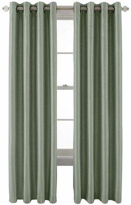 ROYAL VELVET Royal Velvet Plaza Grommet-Top Lined Blackout Curtain Panel
