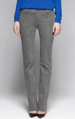 Theory Nabiki K Cotton-Wool Jacquard Pant