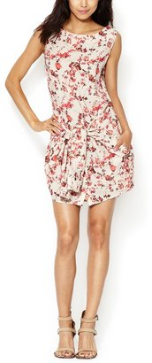 Thakoon Floral Tie Waist Dress