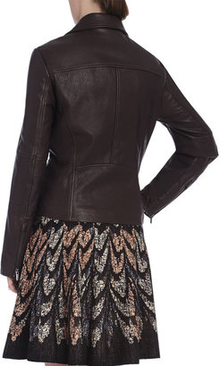 BCBGMAXAZRIA Moto Leather Jacket