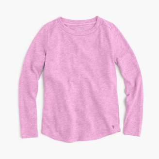 Girls' supersoft long-sleeve T-shirt $22.50 thestylecure.com
