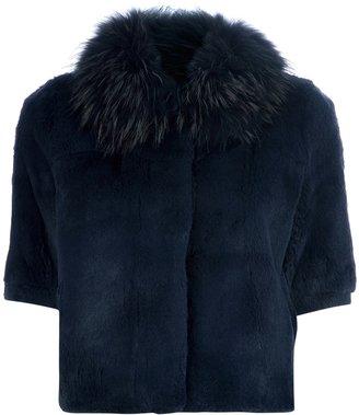 Betta Corradi rabbit fur coat