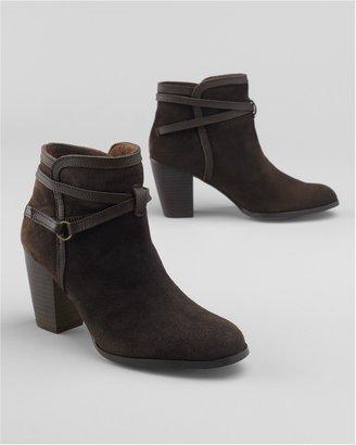 Eddie Bauer Strappy Ankle Boots