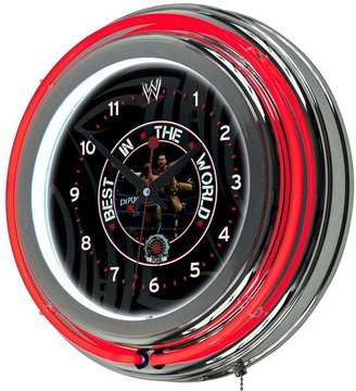 WWE Trademark Global 14 in. CM Punk Neon Wall Clock