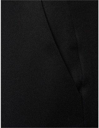 J.W.Anderson Black Wool Cigarette Trousers