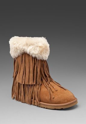 Koolaburra Haley Short Fringe Boot