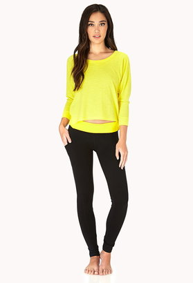 Forever 21 Active Loose Fit Workout Top