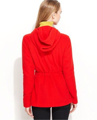 Tommy Hilfiger Jacket, Hooded Fleece Anorak
