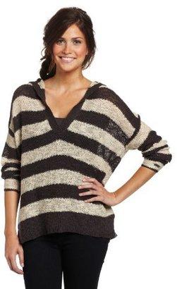 Roxy Juniors Red Cedar Long Sleeve Sweater