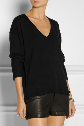 Karl Lagerfeld Laudine wool-blend sweater
