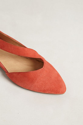 Anthropologie Luca Suede Flats