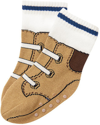 Gymboree Construction Boot Sock