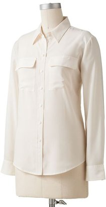 Apt. 9 solid blouse