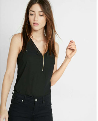 Express Zip Front Tank $39.90 thestylecure.com