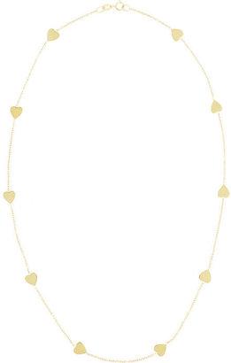 Jennifer Meyer Heart by the Inch 18-karat gold necklace