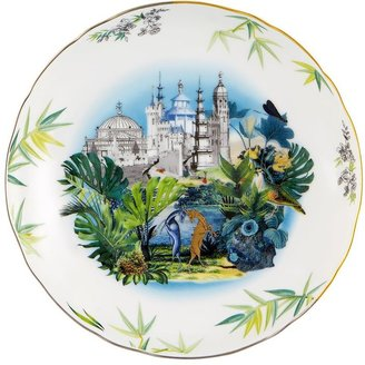Reveries Set Of 4 Porcelain Soup Plates