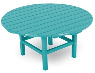 Polywood Recycled Plastic/Resin Coffee Table Color: Aruba