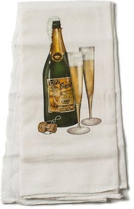 Gump's Champagne Towel