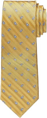 "Jos. A. Bank Heritage Collection Tossed Pines on Herringbone Ground Tie 64"" Long"