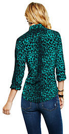 C. Wonder Silk Leopard Print Shirt