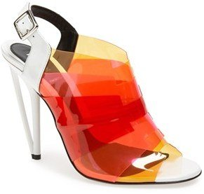 Fendi Ombré Open Toe Sandal