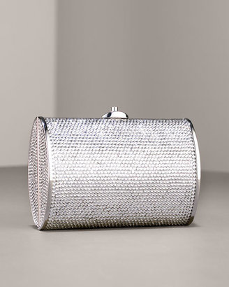 Judith Leiber Small Curved Oval Minaudiere