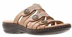 Clarks Collection By Leisa Grace Leather Sandals