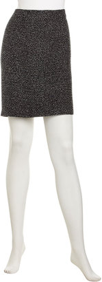 Laundry by Shelli Segal Shimmery Knit Pencil Skirt