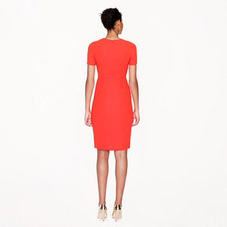 J.Crew Seamed crepe dress