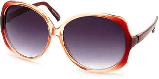 Charlotte Russe Round Ombre Shades