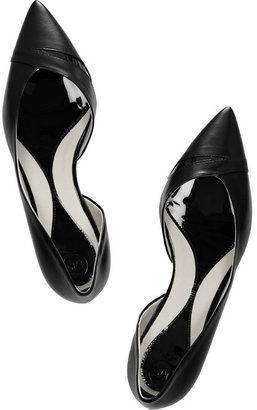 McQ by Alexander McQueen Ada Punk leather pointed-toe flats
