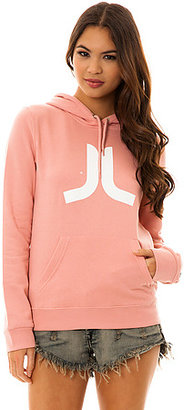 Wesc The Icon Pullover Hoody in Rose Blush