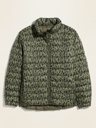 Old Navy Quilted Narrow Channel Plus-Size Puffer Jacket