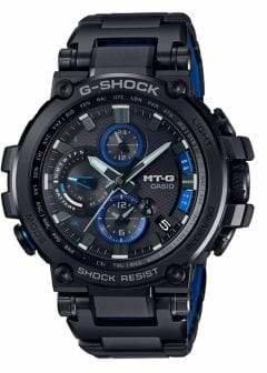 Casio MTG Solar BLE Stainless Steel Bracelet Watch