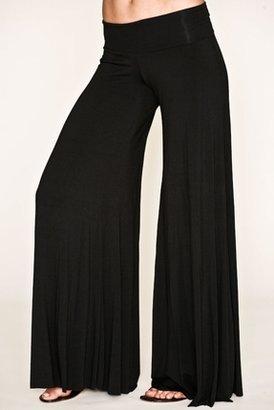 Rachel Pally Wide Leg Trouser in Black