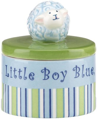 Merry Go Round Little Boy Blue Sheep Trinket Box