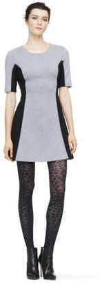 Club Monaco Theresa Paneled Knit Dress