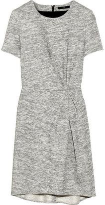 Tibi Marled French terry mini dress