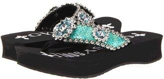 Gypsy SOULE Flower Child (Black) - Footwear