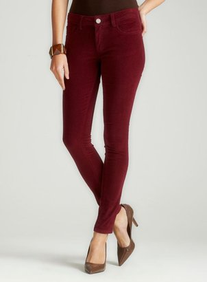 Romeo & Juliet Couture Skinny Cord In Burgundy