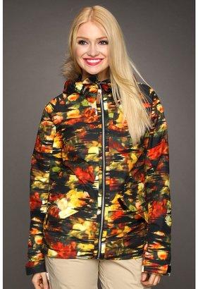 Burton Scarlet Snowboarding Jacket (Trippy Garden Print) - Apparel