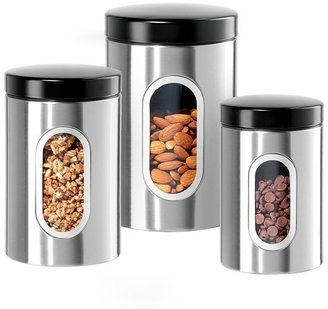 Oggi airtight window canisters