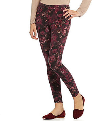 Hue Big Blooms Jeans Leggings