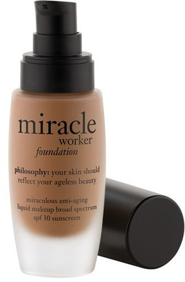 Philosophy 'Miracle Worker' Miraculous Anti-Aging Foundation Spf 30 $40 thestylecure.com