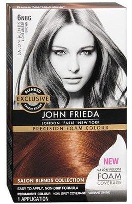 John Frieda Precision Foam Color Permanent Hair Colour Light Amber Brown 6NBG