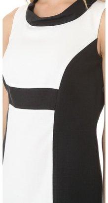 Rachel Zoe Madison II Open Collar Dress