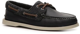 Sperry Men's Leather and Wool A/O Boat Shoe