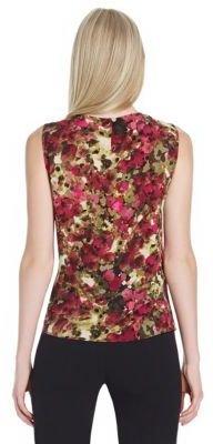 Jones New York Collection Sleeveless Printed Shell Top