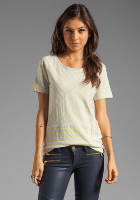 Marc by Marc Jacobs Resort Smith Stripe Jersey Tee