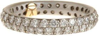 Linda Lee Johnson Women's Diamond Serena Ring-Colorless